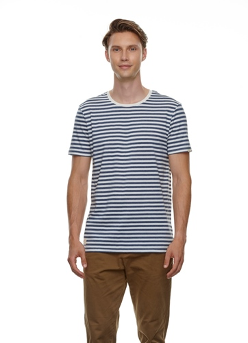 Paul Stripe Organic T-Shirt