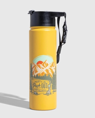 Pack It Out Trinkflasche 22oz